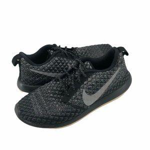 Nike Womens Roshe Running Shoes Black Low Top 10